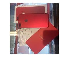 vendo iPhone 7 Rojo y Samsung Galaxy S8 nuevo