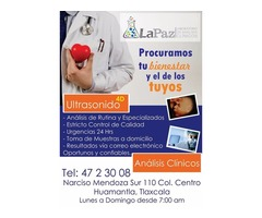 Laboratorio Análisis Clínicos Huamantla, Tlaxcala