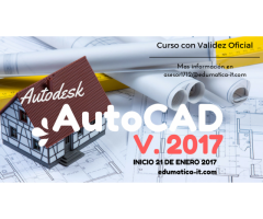 Curso de Autodesk AutoCAD 2017