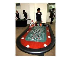 Renta de mesas de casino en Puebla.