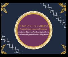 Traductor de japonés freelance