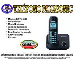 TELEFONO PANASONIC INALAMBRICO KX-TG4111