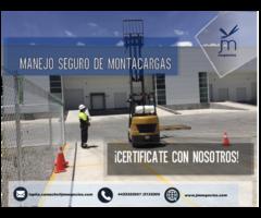 Certificacion Manejo Seguro de Montacargas