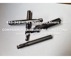 COMPRAMOS CARBIDE DE TUNGSTENO EN ENSENADA