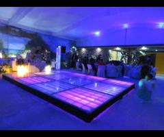 Renta pista de baile iluminada, Edo de Mex y Cdmx