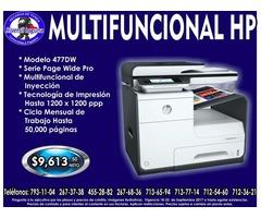 MULTIFUNCIONAL HP 477 DW