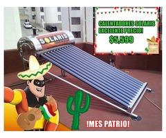CALENTADOR SOLAR EN ACERO INOXIDABLE